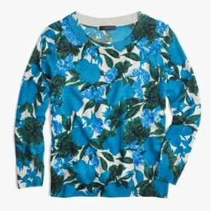 JCrew Sequin Floral Tippi Sweater A49